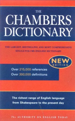 9780550140005: The Chambers Dictionary