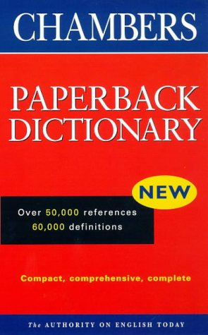 9780550140104: Chambers Paperback Dictionary