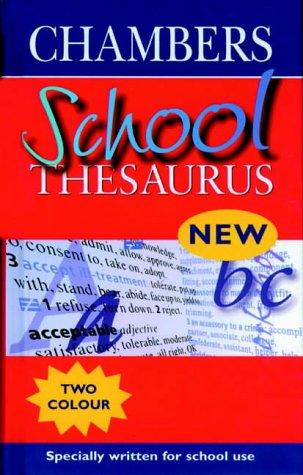 9780550150042: Chambers School Thesaurus