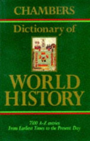 9780550150059: Chambers Dictionary of World History