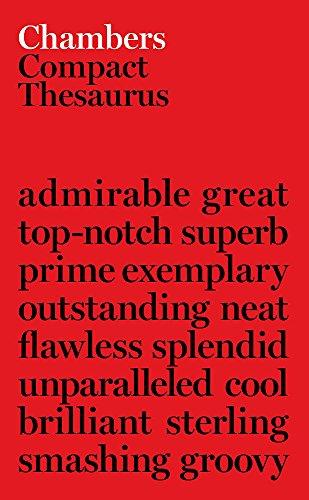 9780550150103: Chambers Compact Thesaurus