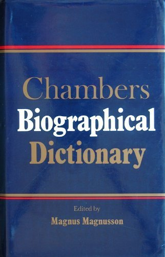 Chambers Biographical Dictionary.