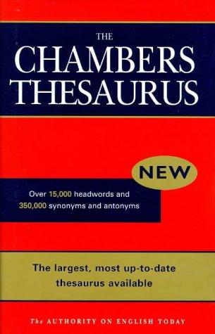 9780550183088: Chambers English Thesaurus