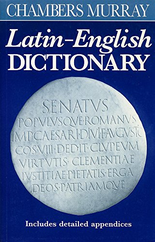 9780550190031: Chambers Murray Latin-English Dictionary
