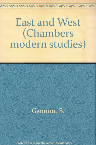 9780550702142: East and West (Chambers modern studies)