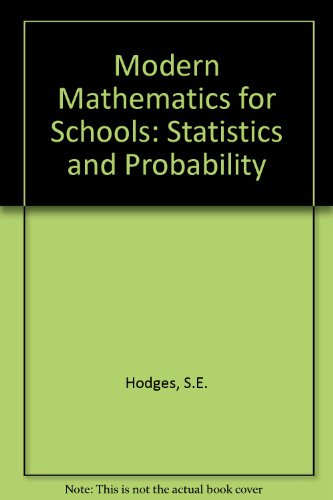Modern Mathematics for Schools: Statistics and Probability: Scottish Mathematics Group