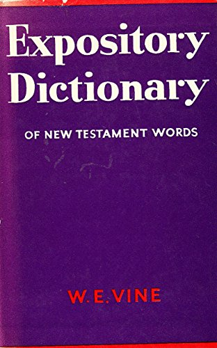9780551002821: Expository Dictionary of New Testament Words