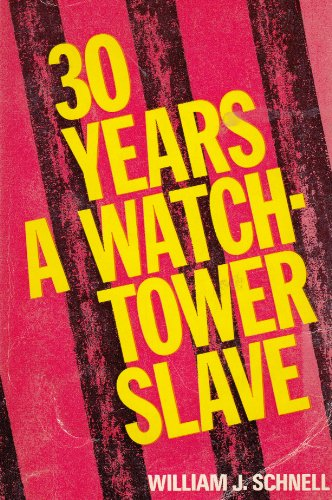 9780551003774: Thirty years a Watchtower slave, etc