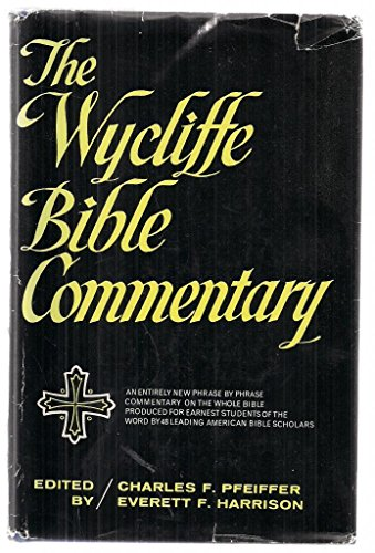 9780551004023: Wycliffe Bible Commentary