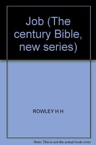 9780551005006: Job; (The Century Bible. New ser)