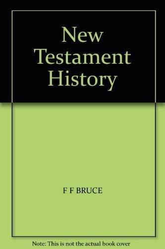 9780551007994: New Testament History
