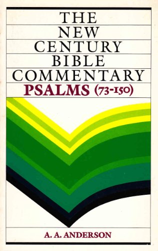 9780551008472: Psalms: v. 2 (New Century Bible)