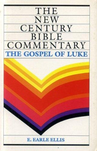 9780551008496: Gospel of Luke (New Century Bible)