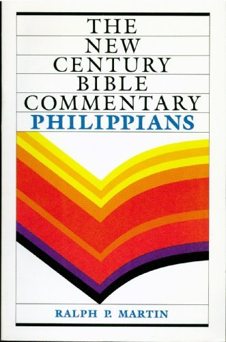 9780551009141: New Century Bible Commentary Philippians