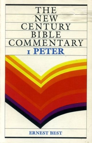 9780551009899: 1 PETER (New Century Bible Commentary)