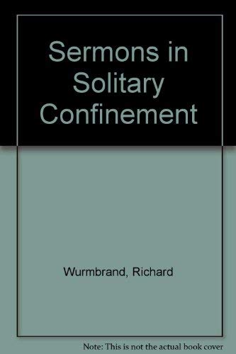 9780551011137: Sermons in Solitary Confinement