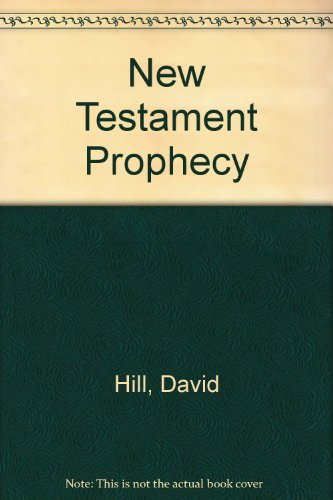 9780551011717: New Testament Prophecy