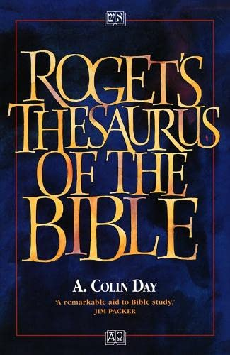 9780551025912: Roget's Thesaurus of the Bible