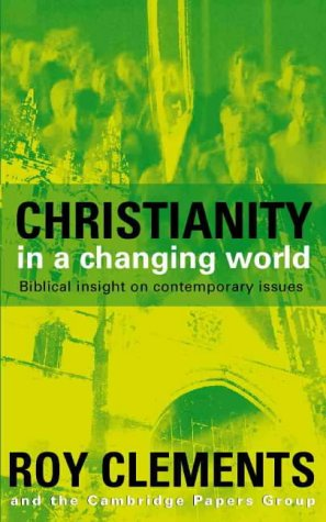 Christianity in a Changing World: MICHAEL SCHLUTER