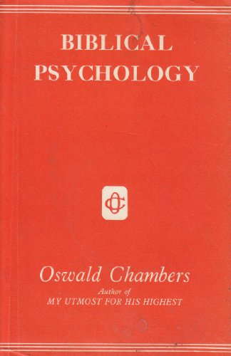 9780551050051: Biblical Psychology