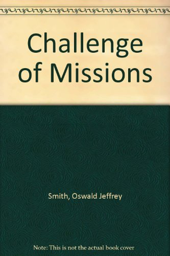 9780551050846: Challenge of Missions