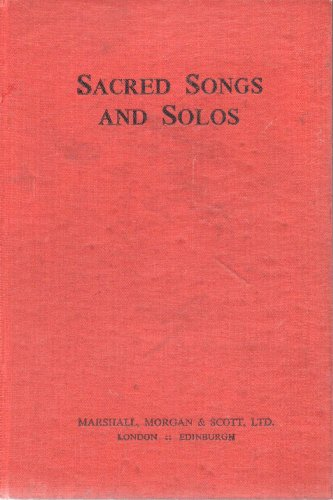 9780551052444: Sacred Songs and Solos: Twelve Hundred Hymns
