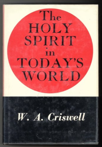 9780551052611: Holy Spirit in Today's World