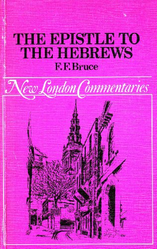 9780551053502: Epistle to the Hebrews (New London Commentary)