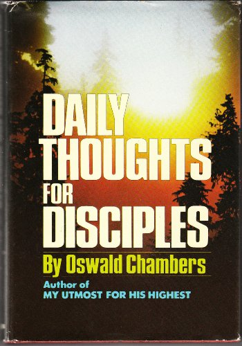 9780551055438: Daily thoughts for disciples