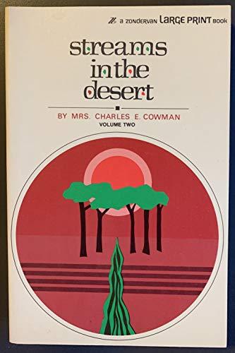 9780551055551: Streams in the Desert Volume 2