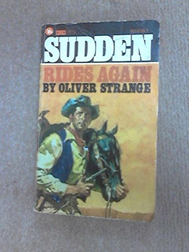 9780552071819: Sudden Rides Again