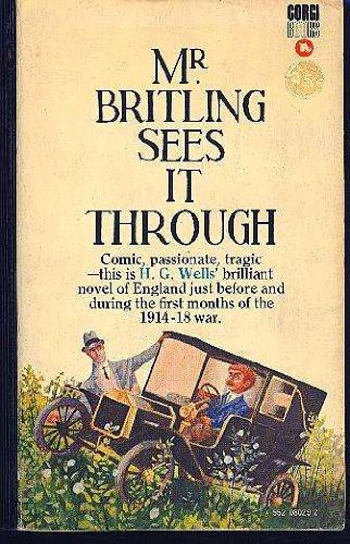 9780552080293: Mr.Britling sees it through