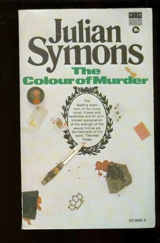 9780552080811: The colour of murder
