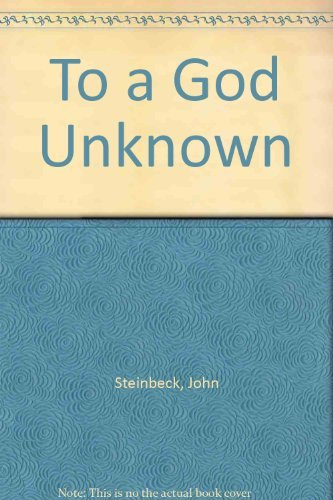9780552083263: To a God Unknown