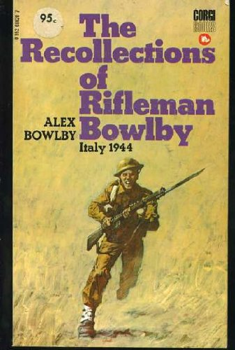 9780552086202: Recollections of Rifleman Bowlby