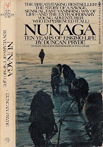 9780552092319: Nunaga: Ten Years of Eskimo Life