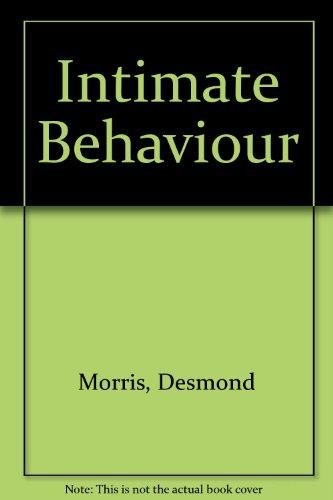 9780552092906: Intimate Behaviour
