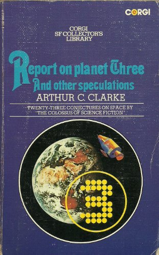 9780552094139: Report on Planet Three and Other Speculations (Corgi SF collector's library)