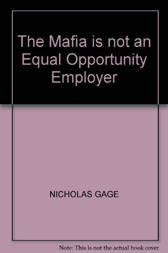 9780552094351: The Mafia is not an Equal Opportunity Employer