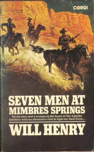 9780552095792: Seven Men at Mimbres Springs
