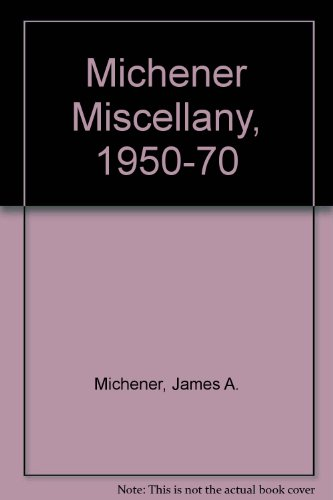 9780552097338: A Michener Miscellany 1950 - 1970