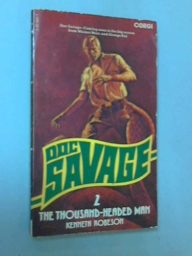 9780552098380: THOUSAND HEADED MAN (FANTASTIC ADVENTURES OF DOC SAVAGE / KENNETH ROBESON)