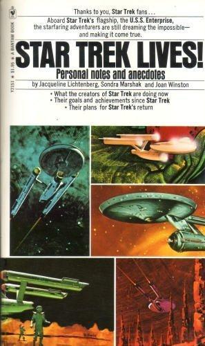 Star Trek Lives!: Jacqueline Lichtenberg, Sondra