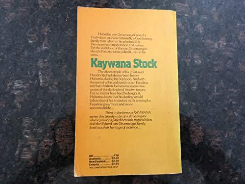 Kaywana Stock: Mittelholzer, Edgar