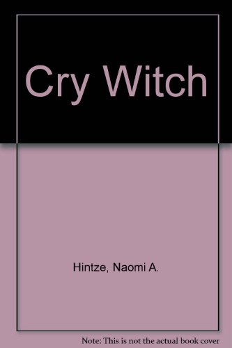 9780552106863: Cry Witch
