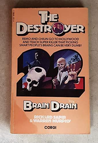 9780552107662: Destroyer 22 Brain Drain