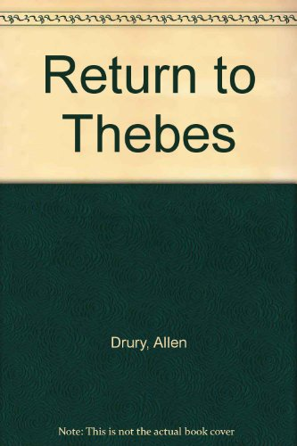 9780552109888: Return to Thebes