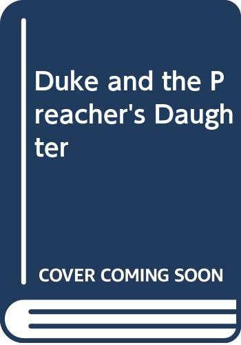 9780552109949: The Duke and the Preacher's Daughter By Barbara Cartland