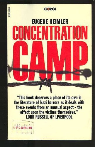 9780552110242: Concentration Camp