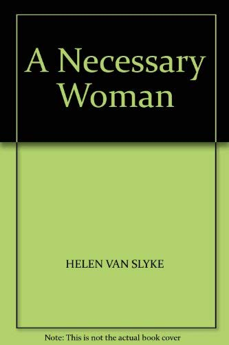 9780552115759: A Necessary Woman